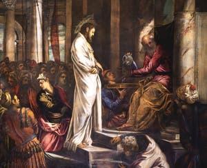 Le Tintoret, Le Christ devant Pilate, Scuola Grande San Rocco à Venise