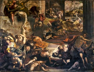 Le Tintoret, Le Massacre des Innocents, Scuola Grande San Rocco à Venise