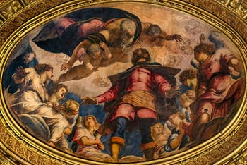 Le Tintoret, Saint Roch en Gloire, Scuola Grande San Rocco à Venise
