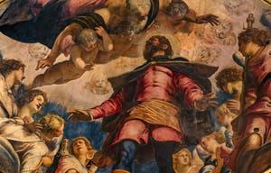 Le Tintoret, Saint-Roch en Gloire, Scuola Grande San Rocco à Venise