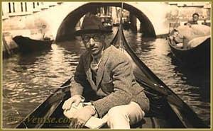 Igor Stravinsky à Venise en 1925
