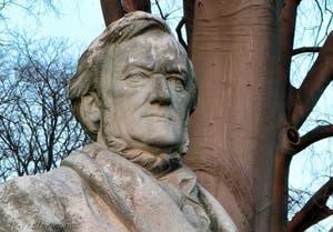 Buste de Richard Wagner dans les jardins des Giardini à Venise