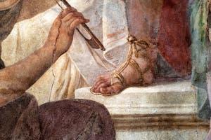 Jacopo Guarana et Agostino Mengozzi Colonna, fresque du Concerto des filles du choeur de l'Ospedaletto Derelitti, Venise Italie