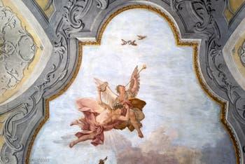 Jacopo Guarana, fresque du Triomphe de la Musique, il Trionfo della Musica, Ospedaletto Derelitti, Venise Italie