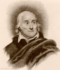 Portrait de Lorenzo Da Ponte par Michel Pekenino