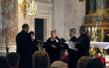 La Chorale de la Crypte des Capucins à Rome