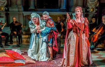 Opéra Didon et Enée à la Scuola Grande dei Carmini à Venise