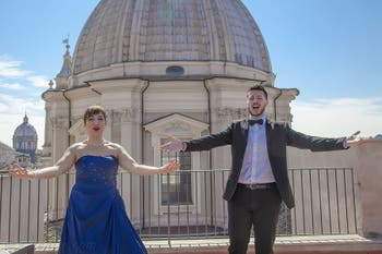 Opéra, Arias et Duos de Verdi, Rossini et Puccini sur la Terrazza Borromini à Rome