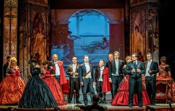 La Traviata de Verdi au Théâtre Margherita à Rome