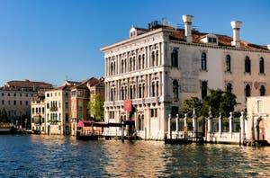 Le Palazzo Vendramin Calergi sur le Grand Canal de Venise, là où est mort Richard Wagner