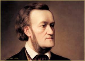 Portrait du Compositeur Richard Wagner