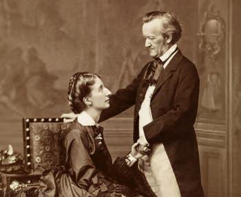 Richard Wagner et sa soeur, Cosima Wagner