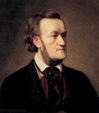Portrait de Richard Wagner en 1862 par Caesar Willich