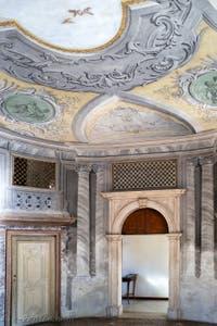 Jacopo Guarana et Agostino Mengozzi Colonna, Salle de la Musique, Sala della Musica de l'Ospedaletto dei Derelitti à Venise en Italie