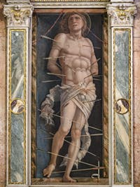 Andrea Mantegna, saint Sébastien à la Galerie Franchetti de la Ca' d'Oro à Venise