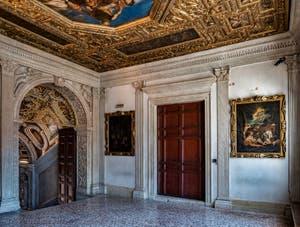 Salon Atrium carré du Palais des Doges à Venise