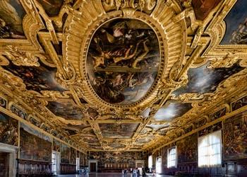 La Salle du Grand Conseil du Palais des Doges de Venise