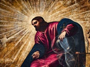 Le Paradis de Tintorettintoret-011-le-paradis-christ-palais-des-doges-de-venise au Palais des Doges de Venise