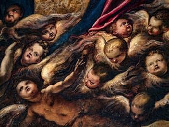 Le Paradis de Tintoret et les Chérubins, au Palais des Doges de Venise