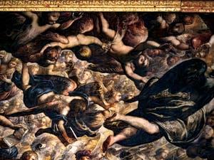 Chérubins et Séraphins du Paradis de Tintoret au Palais des Doges de Venise