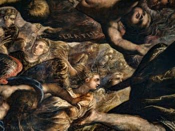Le Paradis de Tintoret et les anges Chérubins et Séraphins au Palais des Doges de Venise