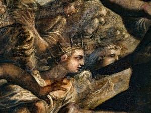 Le Paradis de Tintoret, Séraphins et Chérubins, au Palais des Doges de Venise