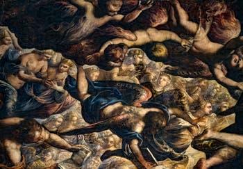 Le Paradis de Tintoret et ses anges Séraphins et Chérubins au Palais des Doges de Venise