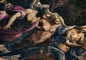 Les Chérubins et Séraphins du Paradis de Tintoret au Palais des Doges de Venise