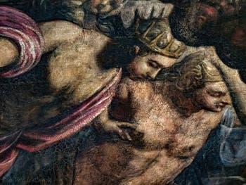 Les Anges Séraphins du Paradis de Tintoret au Palais des Doges de Venise