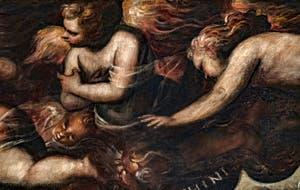 Le Paradis de Tintoret, Anges Chérubins, au Palais des Doges de Venise