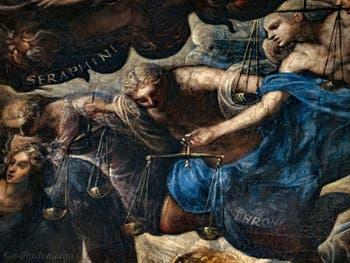 Le Paradis de Tintoret, les Anges Trônes au Palais des Doges de Venise