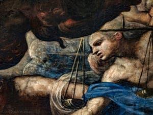 Le Paradis de Tintoret, les Trônes et leurs balances au Palais des Doges de Venise