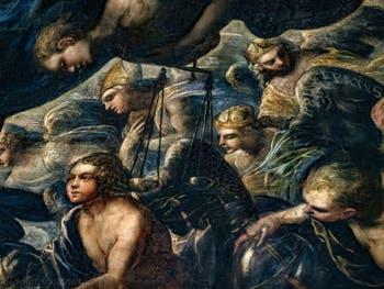 Le Paradis de Tintoret, anges Trônes et Principautés au Palais des Doges de Venise