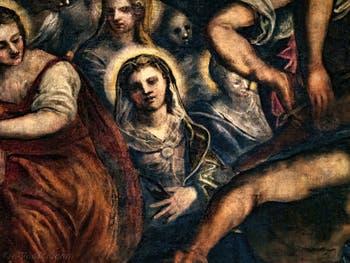 Les Saintes du Paradis de Tintoret au Palais des Doges de Venise