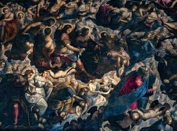 Les Saintes et Saints du Paradis de Tintoret au Palais des Doges de Venise