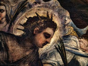 Le Paradis de Tintoret, Sainte-Justine de Padoue, au Palais des Doges de Venise