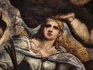 Le Paradis de Tintoret, Sainte-Lucie de Syracuse, au Palais des Doges de Venise