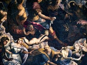 Les Saints et Saintes du Paradis de Tintoret au Palais des Doges de Venise