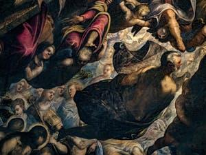 Le Paradis de Tintoret, Noé et son arche, au Palais des Doges de Venise