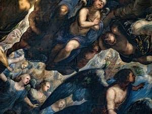 Les anges du Paradis de Tintoret au Palais des Doges de Venise