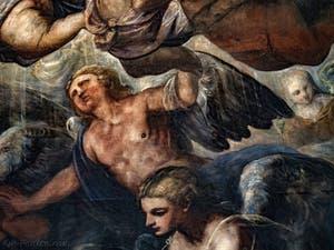 Le Paradis de Tintoret et ses anges, au Palais des Doges de Venise