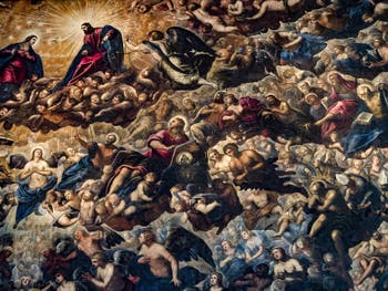 Le Paradis de Tintoret au Palais des Doges de Venise