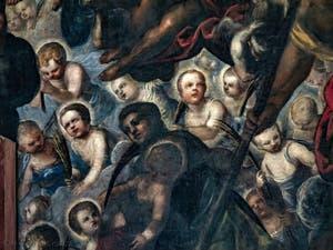 Le Paradis de Tintoret, Rachel et ses enfants, au Palais des Doges de Venise