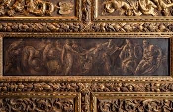 Le Tintoret, La reine de Saba devant Salomon, dans le salon de l'Atrium carré du Palais des Doges à Venise