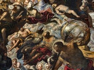 Le Paradis de Tintoret dans la Salle du Grand Conseil du Palais des Doges à Venise
