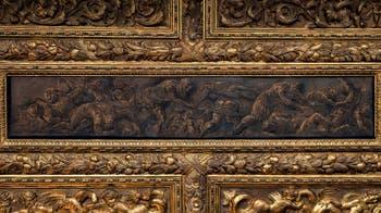 Le Tintoret, Samson bat l'armée ennemie, salon de l'Atrium carré du Palais des Doges à Venise