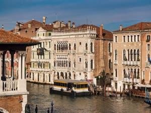 Le Palais de la Ca' d'Oro à Venise en Italie