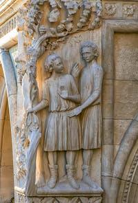 Les Fils de Noé, XIV-XVe siècle, Palais des Doges de Venise