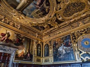 Salle du Sénat du Palais des Doges de Venise