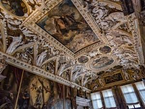 Salle des Quatre Portes du Palais des Doges à Venise